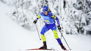 Что нужно знать о биатлонистке Анне Соле: уходила из спорта в 21, а сейчас обгоняет звезд и может взять медаль ЧМ