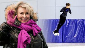Четверной Валиевой, улыбка Тарасовой, хватающийся заголову Мишин. Лучшие фото сюниорских прокатов