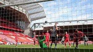 «Ливерпуль» в компенсированное время упустил победу над «Ньюкаслом» в АПЛ