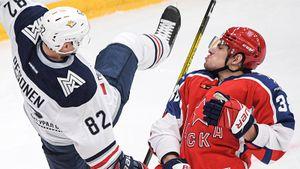 3 гола за 3 минуты: ЦСКА пропустил крутой рывок «Магнитки» и проиграл впервые за 6 матчей