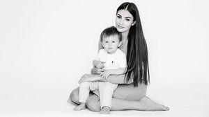 Жена Овечкина поделилась трогательным фото с сыном. Ребенку исполнилось 20 месяцев
