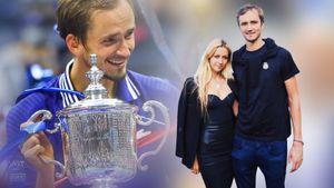 Как выглядит жена чемпиона US Open Даниила Медведева Дарья: она тоже была теннисисткой
