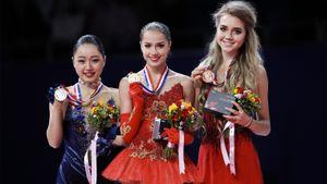 В Америке назвали главную соперницу русских фигуристок на Олимпиаде. Она побеждала Загитову и общается с Медведевой