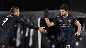 «Манчестер Сити» разгромил «Фулхэм». Агуэро забил в АПЛ впервые за 418 дней
