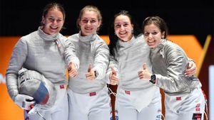 Россия выиграла командный зачет на ЧМ по фехтованию. Саблистки без проблем забрали свое золото