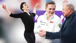 Коляда с одним четверным выиграл короткую на чемпионате России, набрав за 100 баллов. Игнатов с двумя квадами — 2-й