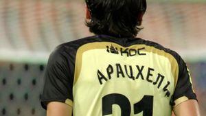 У Кварацхелии в матче с «Ракувом» отклеились буквы фамилии на футболке
