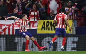 «Атлетико» обыграл «Ливерпуль» впервом матче 1/8 финала Лиги чемпионов