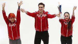 Загитова, Медведева, Валиева, Олимпиада, очередь в танцах. Откровенный разговор с фигуристами Загорски и Гурейро