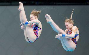 Российские прыгуньи в воду Беляева и Тимошинина стали чемпионками Европы