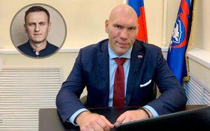 Валуев ответил Навальному, назвавшему его олицетворением тупости и идиотизма в ситуации с футболистом Фроловым