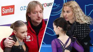Звездочки Тутберидзе и Плющенко против американки и украинки. Россиян наконец-то пустили на Гран-при