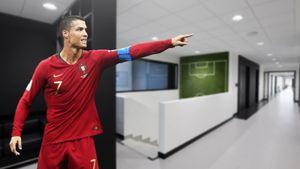 Роналду настоял на переносе матча Португалии в Турин. Из-за любви к «футуристичной» тренировочной базе «Юве»: фото