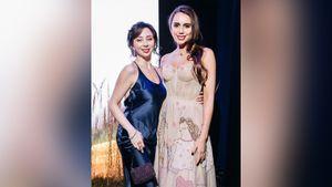 «Красоточки». Гимнастка Мамун и фигуристка Туктамышева сделали эффектное фото в вечерних платьях