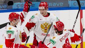 Россия мучилась без голов 97 минут. Сухую серию на МЧМ прервал Сафонов — канадцы неправильно написали его фамилию