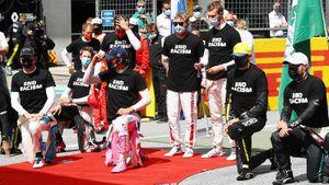 Квят снова не встал на колено и взял 1-е очко за «АльфаТаури», «Феррари» столкнулись и сошли. 2-я гонка сезона-2020