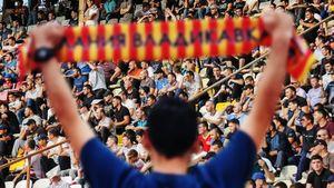 На первый матч «Алании» в ПФЛ пришли 15 тысяч зрителей. Габулов хочет расширить стадион