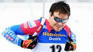 Елисеев стал чемпионом Европы вспринте. Остальные россияне проигрывают биатлонистам второго эшелона
