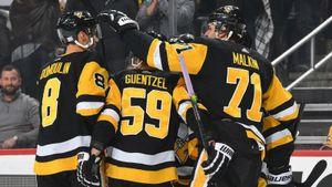 Хоккейное сумасшествие вПиттсбурге. 14 шайб заматч, 5 очков Малкина, дикий камбэк «Пингвинз»
