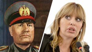 Внучка Муссолини пригрозила петлей семье болельщика «Селтика»