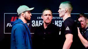 «Говорил: «Дайте мне иностранца». Бойцы ММА из России войдут в историю UFC на турнире в Москве