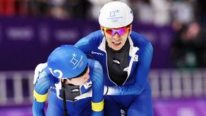Олимпийский чемпион избивал партнеров посборной. Год дисквалификации— наказание для ЛиСын Хуна
