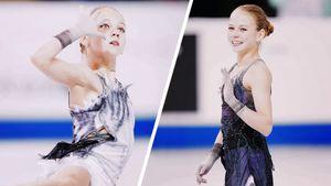 Платье Трусовой тоже должно меняться походу программы, ноэтого незамечают. Что сним нетак?
