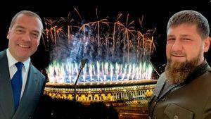 Селфи Медведева и Кадырова, пламенная речь Лукашенко, факел Домрачевой. Как открыли Европейские игры