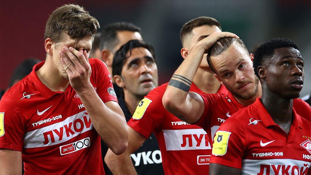 Позорище! Фанаты Спартака жестко раскритиковали футболистов с трибуны после домашнего поражения от Легии