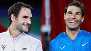 Надаль сравнялся с Федерером по числу побед на турнирах Большого шлема