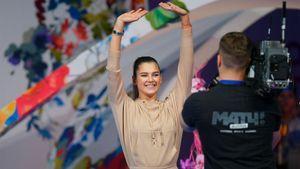 Взявшая паузу в карьере гимнастка Солдатова выступила на гала-концерте на этапе Гран-при в Москве