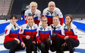 Женская сборная России по керлингу одержала 7-ю победу на чемпионате мира в Калгари