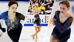 Трусова хочет четверные в короткую, Медведева молчит, Саханович недовольна. Россиянки о Skate Canada
