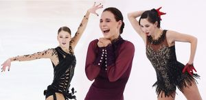В конце апреля в Петербурге состоится шоу вице-чемпионки мира Леоновой. В нем примут участие Туктамышева и Сотскова