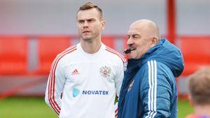 Акинфеев сообщил Черчесову, что не готов помочь сборной России на Евро-2020