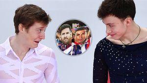 Фигурист Самарин сравнил себя и Алиева с Месси и Роналду: «Кто-то симпатизирует мне, кто-то болеет за Диму»