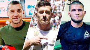 «Я с детства за «Реал». Это сказал Лука Йович — а еще Дзюба, Хабиб и другие селебрити
