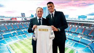 Рейньер — новый Кака для «Реала». Бразильского янгстера официально презентовали
