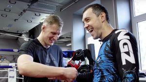 «Теперь тыдолжен намне жениться». Боец UFC Волков проверил Дзюбу напрочность