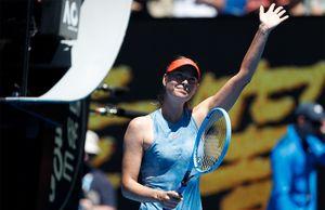 Убийственный старт на Australian Open: Шарапова провела лучший матч за пять лет